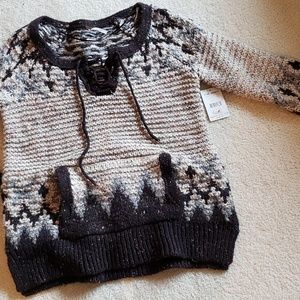 FREE PEOPLE Nordic Wool Sweater NWT Small